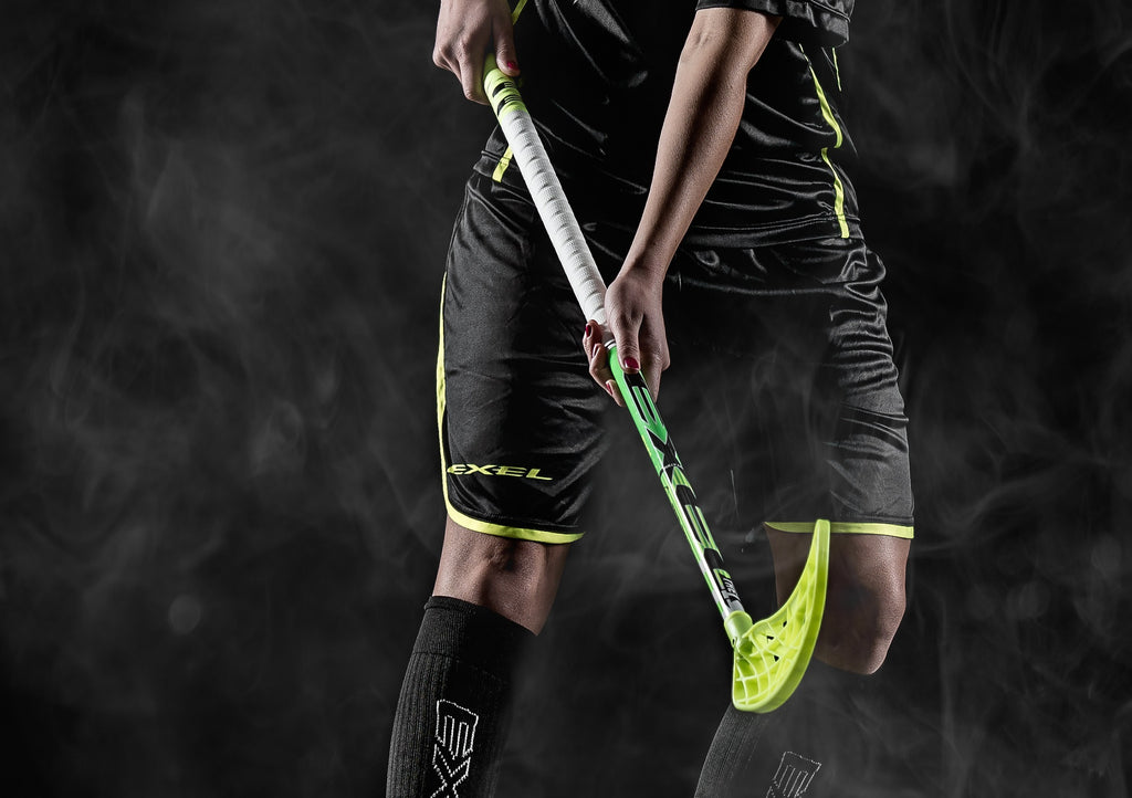 2017 THE1 Floorball Stick - Green