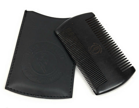 Beard Brush and Comb Trimming Set
