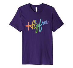 Hipfree Womens Purple T Shirt, Size M