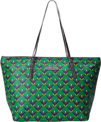 Vera Bradley Women's Slim Strap Tote Emerald Diamonds