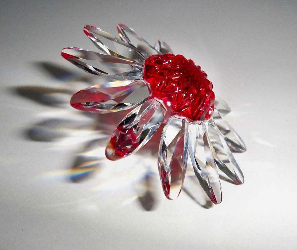 Swarovski Red Marguerite with Miniature Marguerites SCS 3-Year Membership Renewal Pieces 2000