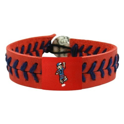 MLB Milwaukee Brewers Sausage Guy 2 Team Color Baseball Bracelet