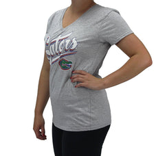 Creative Apparel Women' s Florida UF Gators V-Neck T-Shirt