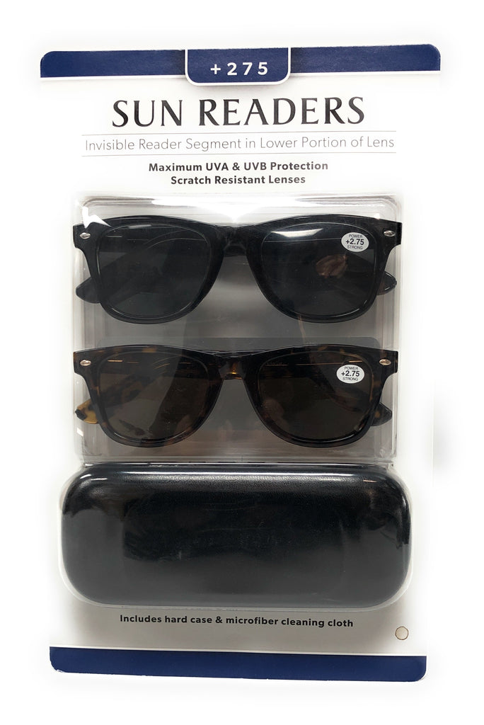 Sun Readers 2 Pack +2.75