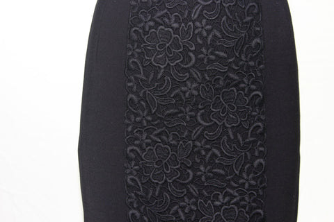 Embroidered Lace down Center front