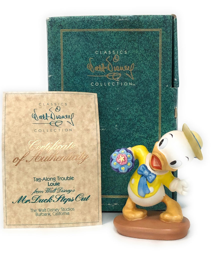 WDCC DISNEY Mr. Duck Steps Out Collectible Figurine LOUIE