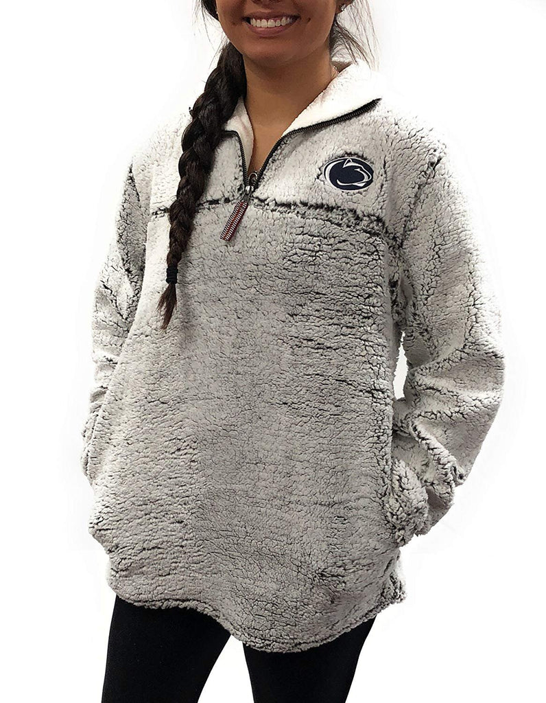 Women's University Apparel Penn State Nittany Lions 1/4 Zip Poodle Jacket , S - XL