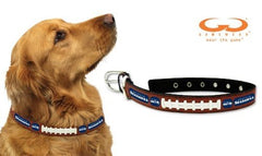 NFL Seattle Seahawks Leather Dog Collar, Small 10