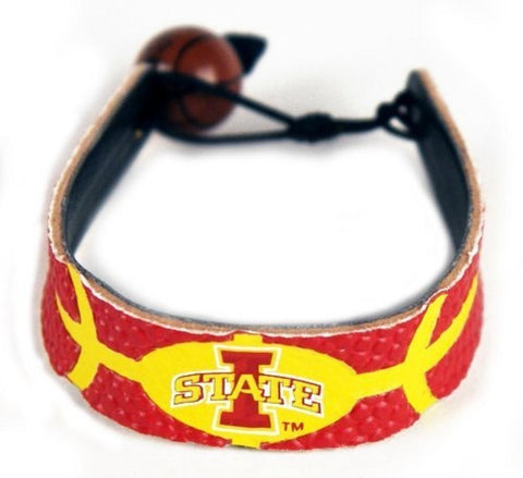 NCAA Officially Licensed College Team Logo Leather Basketball Bracelet - Choose Your Team