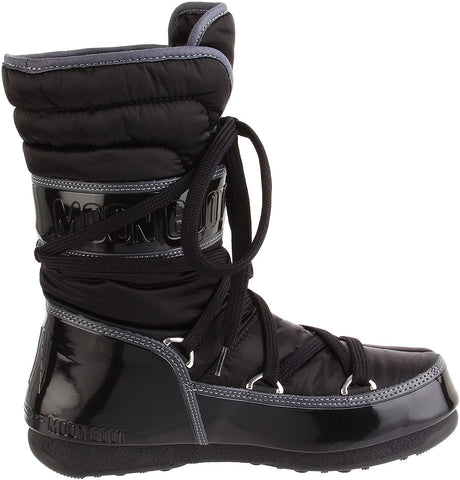 Tecnica Women's W.E. Shorty Moon Boot, Black, US5.5 / EURO 36 / UK 3.5