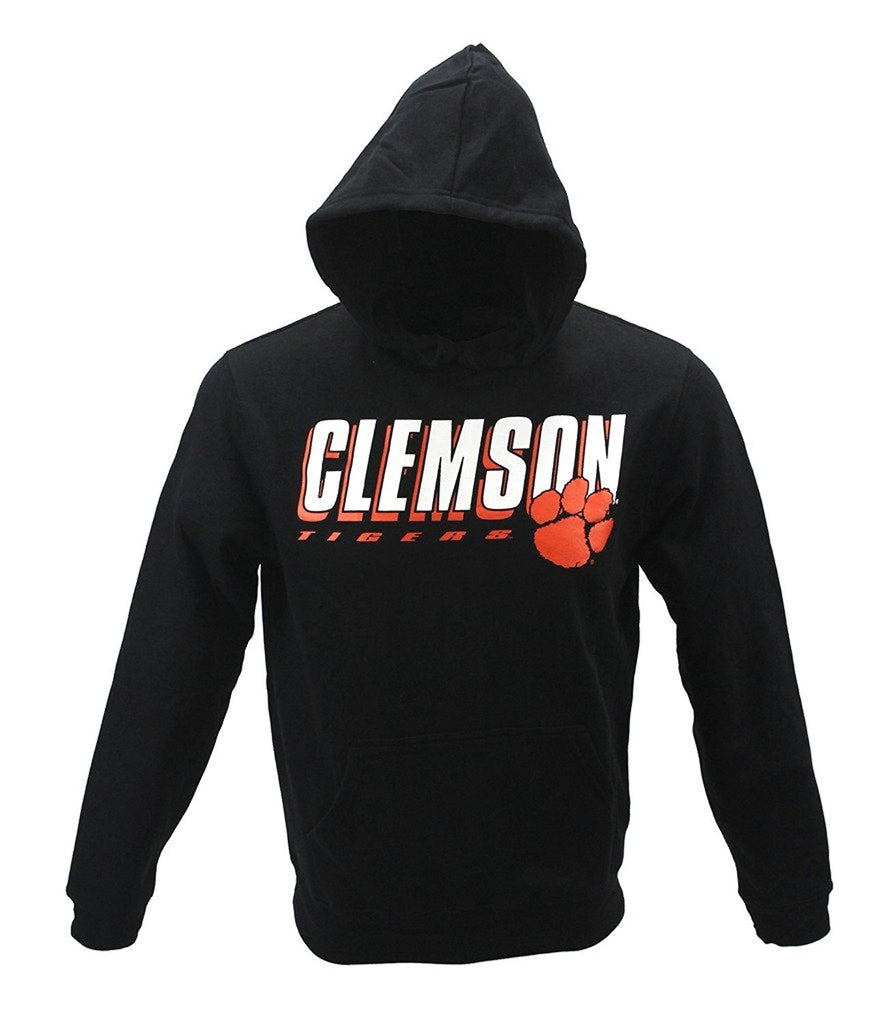 Men's NCAA College Hoodie Clemson Tigers,  Black L - XXL
