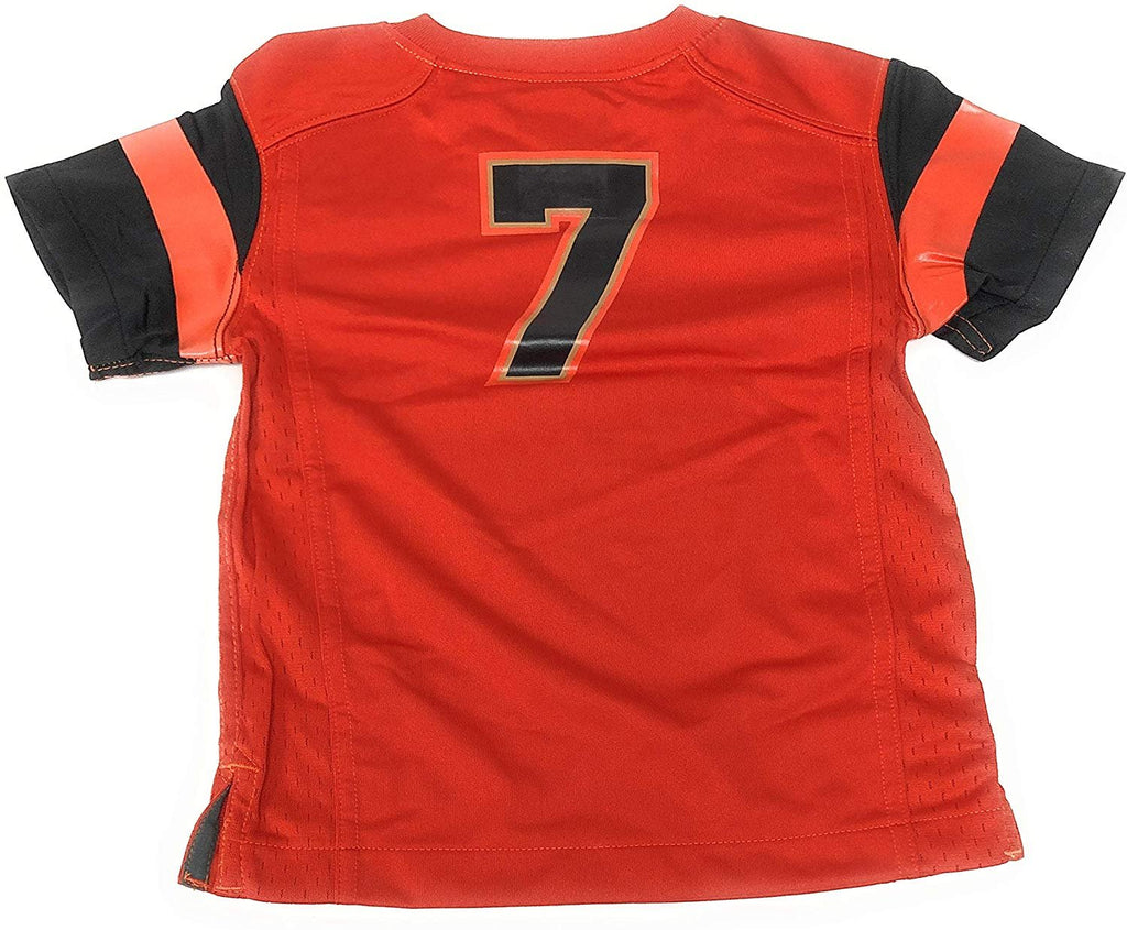Nike Kids NCAA Oregon State Beavers Football Toddler Jersey #7 Orange