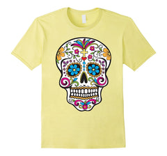 Hipfree Womens Day of the Dead Sugar Skull T Shirt, Size M