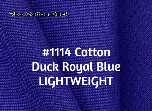 #1114 Cotton Duck