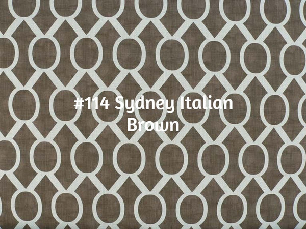 Roman Shade #078  (Geometric Pattern)