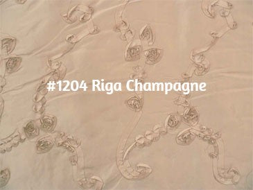 #1P550 Champagne Colors Faux Silk Curtain (Use Discount Code)