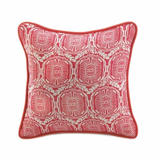#C33 Pillows, Jute Red