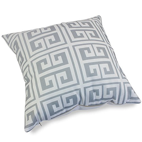 Super Popeven Grey Geometric Pattern Pillow Covers Decorative Sets Of 4 Sofa Pillow Case For Living Room Throw Pillows Sets For Couch Ocoug Best Dining Table And Chair Ideas Images Ocougorg