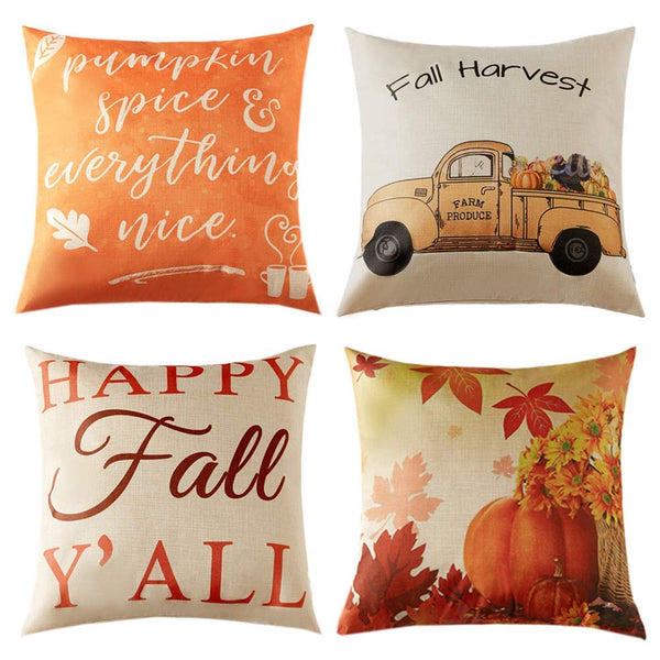 TP150 Happy Fall Ya'll Pillow Group
