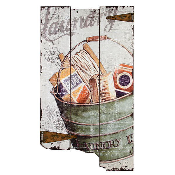 #72555 Vintage Laundry Sign