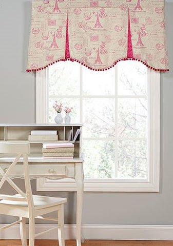 #243 Paris in the Spring Valance
