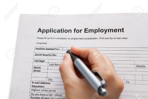 Application for SEAMSTRESS Employment