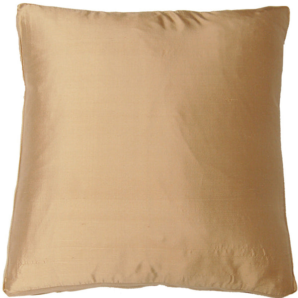 #C543 SILK Dupioni Box PILLOW 20 x 20 x 2