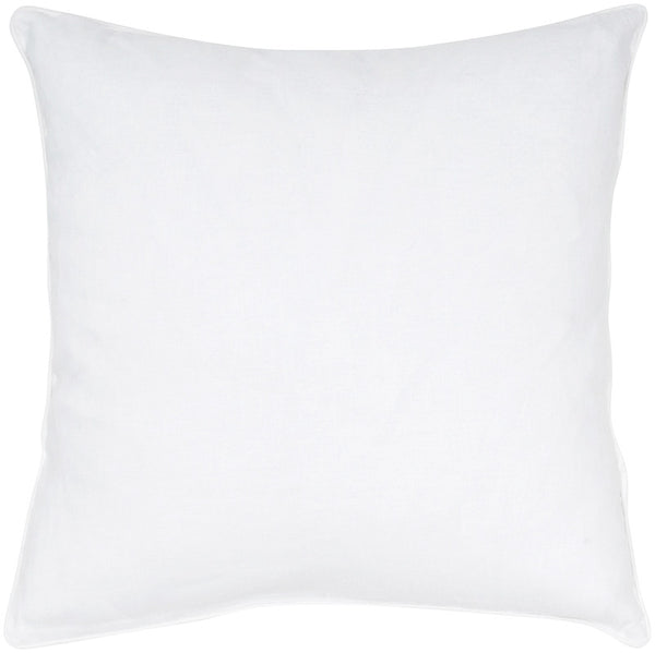 #C630  White Linen PILLOW 20 x 20