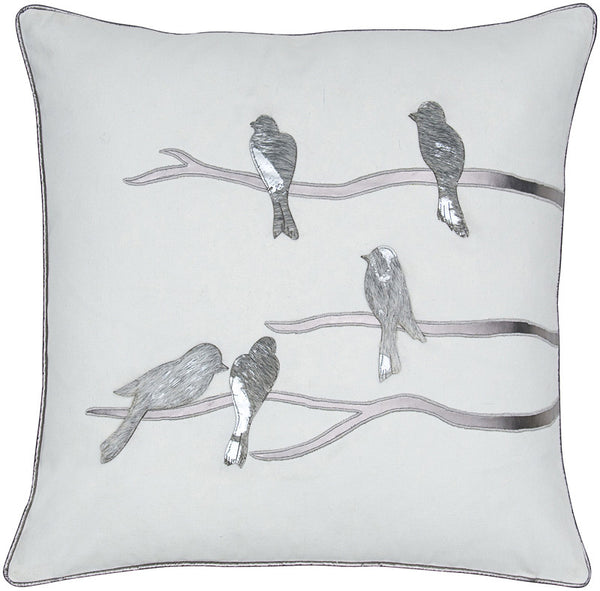 #C809  Birds PILLOW 20 x 20
