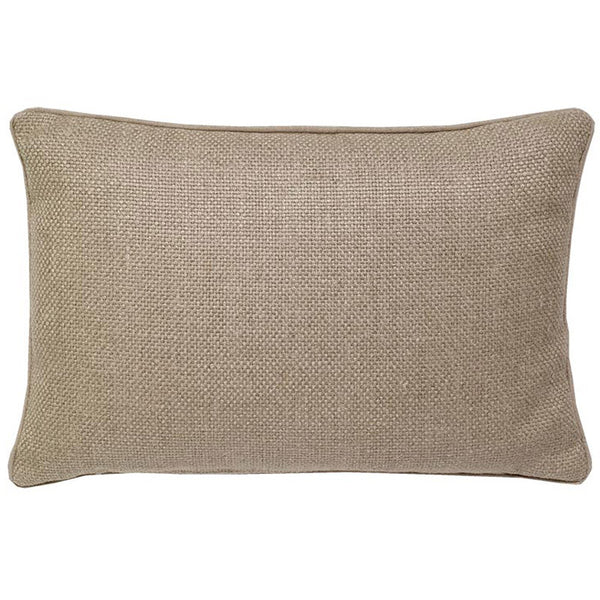 #C910 Natural Basket Weave PILLOW 14 x 20