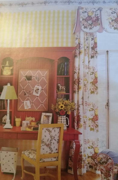Cutie Valance with Panels (Choose from over 500 Fabrics)  #6010