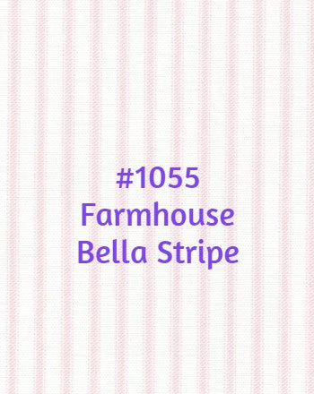 Roman Shade #120  (Farmhouse Stripes)