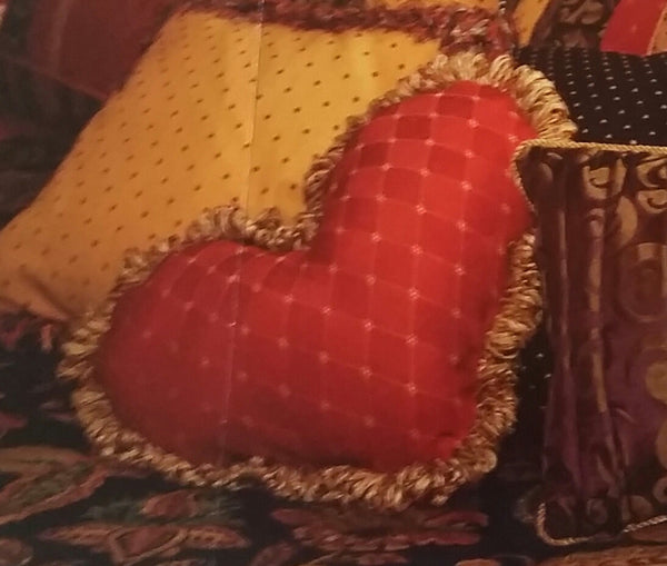 Heart Pillow  #72