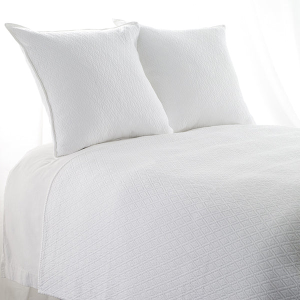 #5044 Indi WHITE COVERLET 10% Off Retail