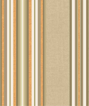#106 Wide Stripe Roman (slats) YOU PAY  1/2  DOWN