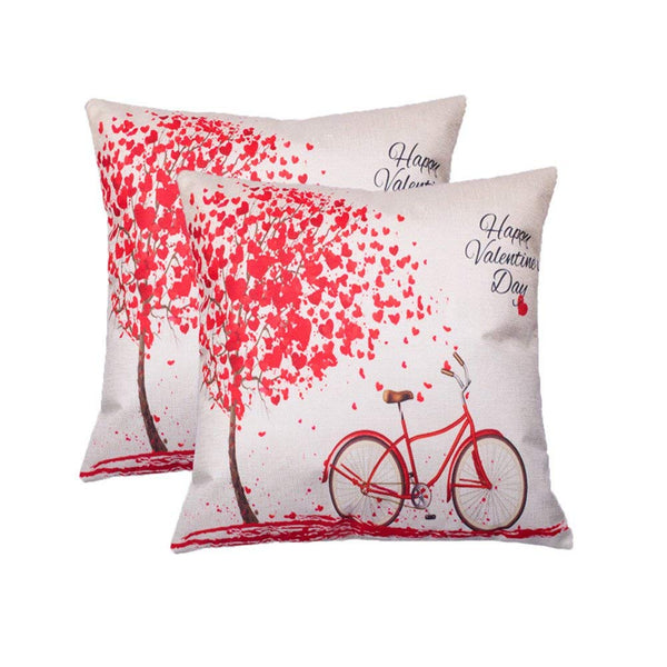 Tp90 Happy Valentines Day Throw Pillows Group By Harrington