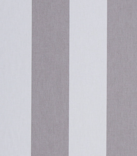 "#507 Cotton Blend NATE BERKUS 4"" GREY & WHITE STRIPE"