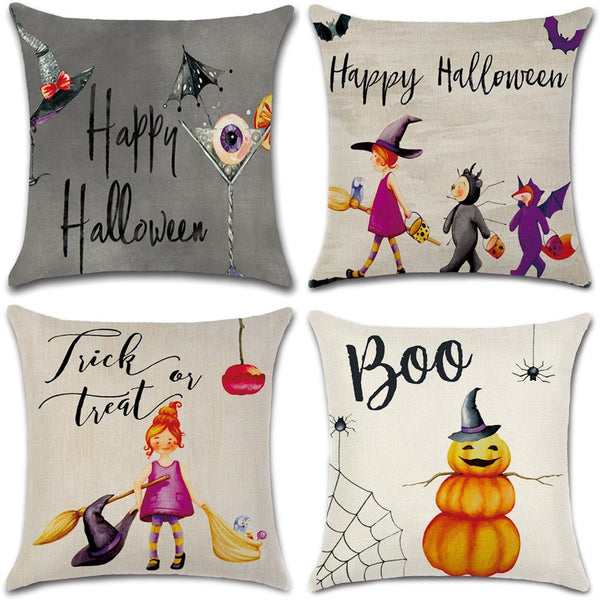 TP135  Boo Throw Pillows Group