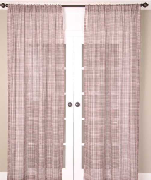 #P5504 Linen Sheer Curtain (Use Discount Code)