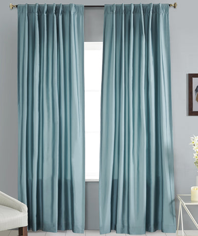 #P550 Dusty Faux Silk Curtain (Use Discount Code)