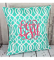 Monogrammed Pillow (Choose from 362 Fabrics in Group A)  #55