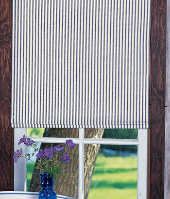 #120  (#10 Best Seller) Farmhouse Stripes Romans (slats)
