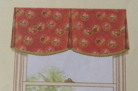 #237 Simple Scalloped Valance