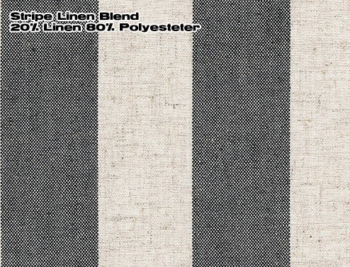 #129 Wide Stripe Classic Roman (tucks) YOU PAY  1/2  DOWN