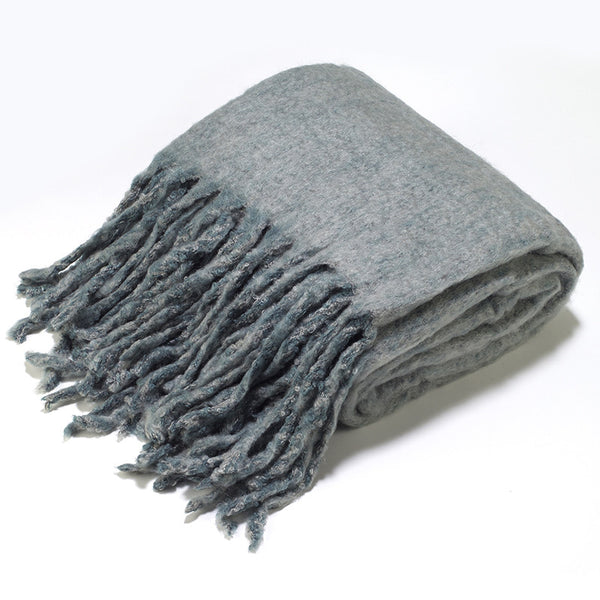 TH51 Mohair Blend THROW 25% Off Retail