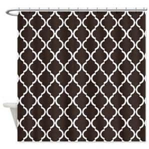 Shower Curtain with Geometric Pattern   #2003   PAY 1/2 DOWN
