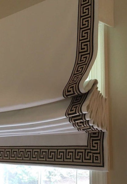 Roman Shade #123  (with Fabulous Grecian Trims)