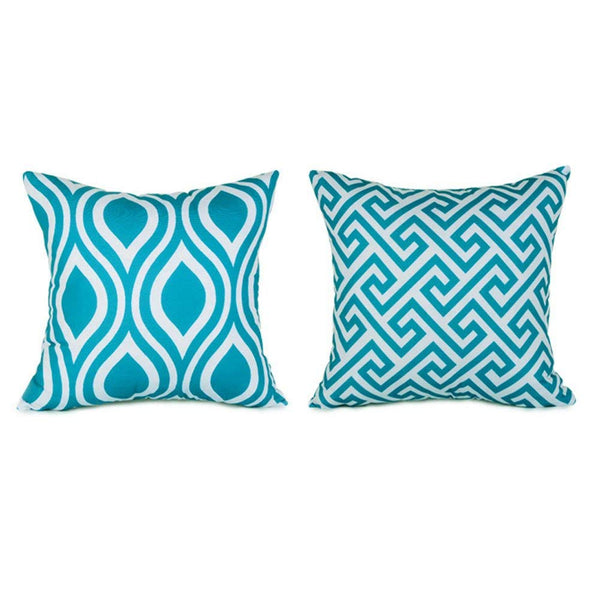 TP102 Turquoise Throw Pillows Group