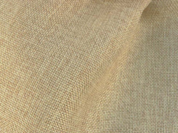 Burlap Curtain with Pleated Tops or Tabs UNLINED