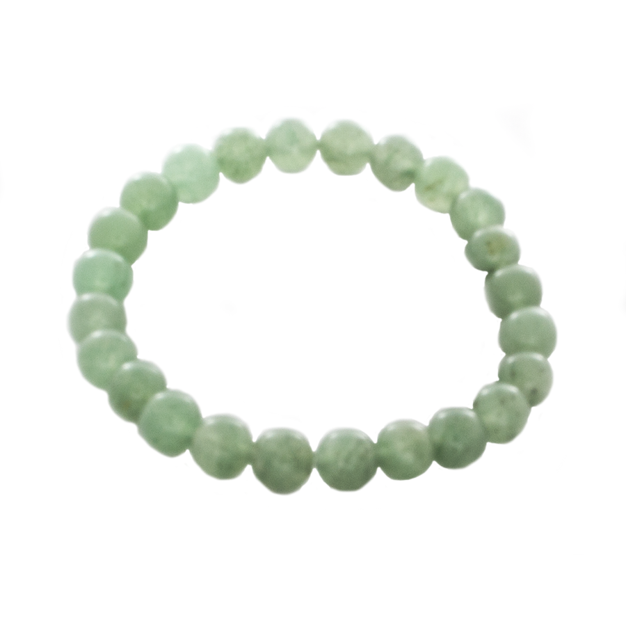 Aventurine Mala Stretch Bracelet. Good Feng Shui - Sandra Jeffs